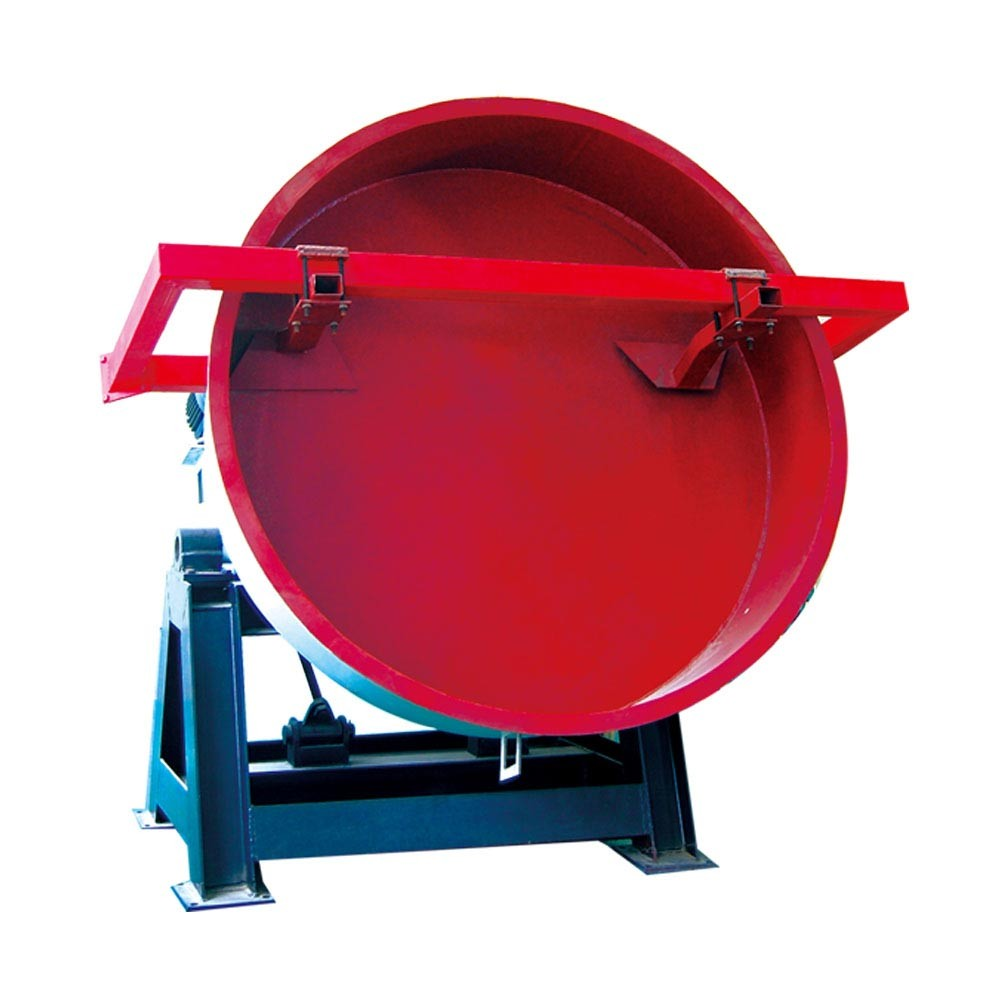 High efficiency cow manure organic fertilizer disc pellet machine