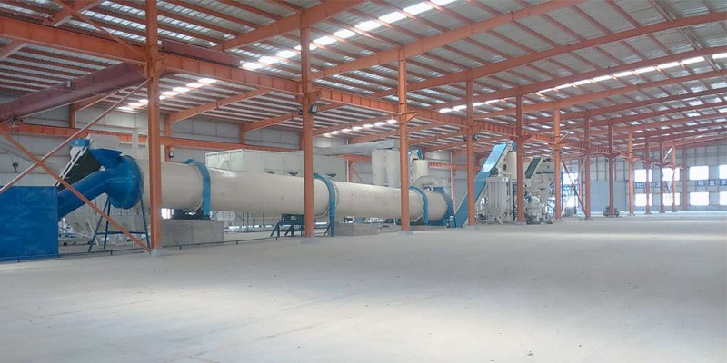 10 T/H straw pellet production line in Anhui