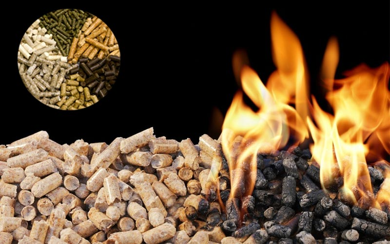 How to distinguish between biomass fuel coking and Incomplete burning