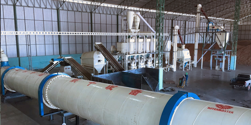 6 T/H wood pellet production line in Thailand (图2)