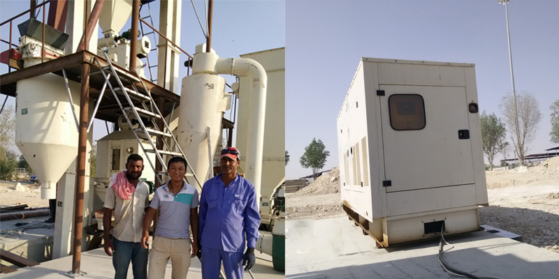 2-2.5 T/H feed pellet production line in Qatar(图3)