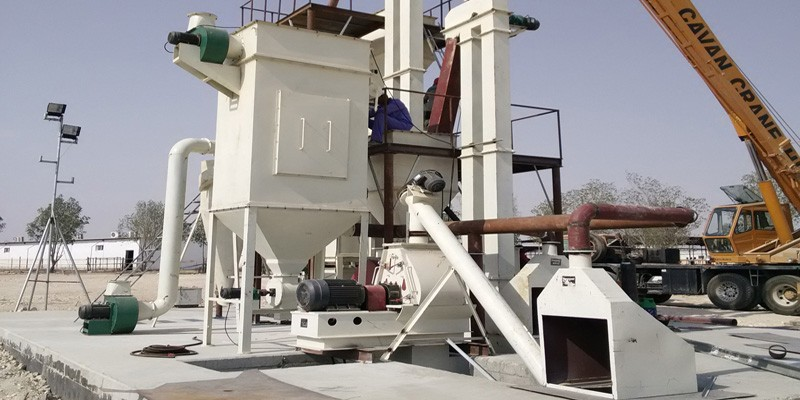 2-2.5 T/H feed pellet production line in Qatar(图1)