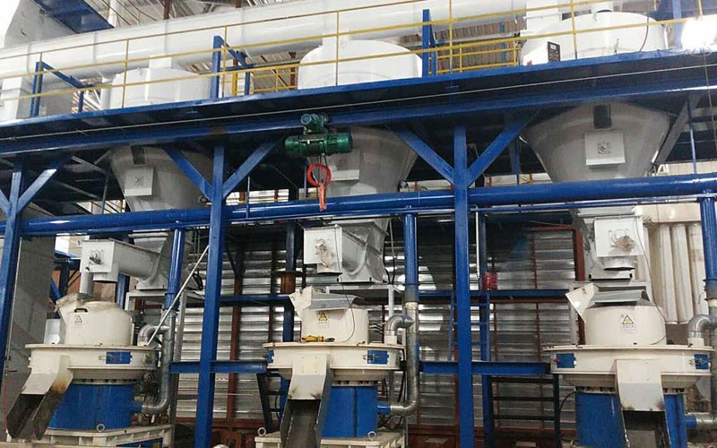 10 T/H wood pellet production line in Yuxi(图1)
