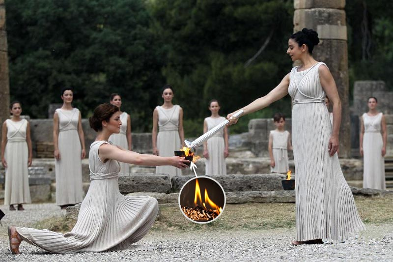 The 2020 Youth Olympic Torch will be lit by wood pellets(图1)